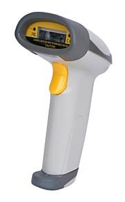 901 USB Wired Desktop / Handheld Laser Barcode Scanner - Gray