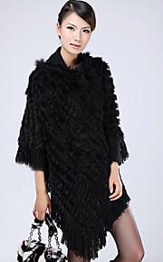 Rabbit Fur Parti / Casual châle / Hood (plus de couleurs)