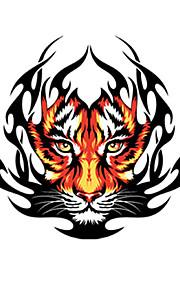 Fire Tiger Mønster Dekorative Bil Klistermærke