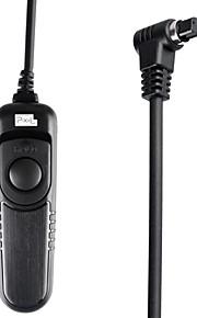 PIXEL RC-201/N3 Kabel ontspanknop afstandsbediening voor Canon EOS 7D 5D 1D 6D 50D 40D 30D 20D 10D