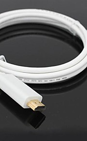 Mini Displayport Male til HDMI Male Adapter Cable (300cm)