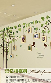 Photo Frame Collection Set di 9 con ree Wall Sticker
