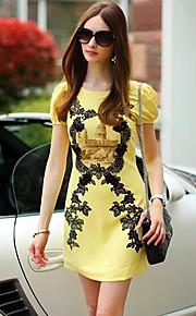 Pink Doll Vintage A Line Short Sleeve Dress