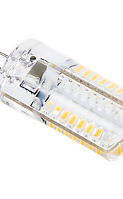 g4 3w 448lm 64x3014smd chaude lumière blanche / froid led ampoule de maïs (220v)