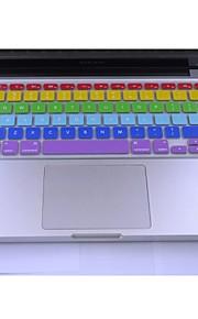 """coosbo® silicona colorida piel de la cubierta del teclado para 13.3 """", 15.4"""", 17 """"pro macbook air / retina"""