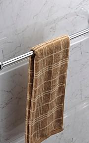 クローム仕上げステンレススチール素材のタオルバー