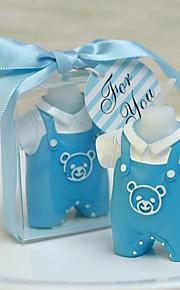 Baby Shower de bébé de robe de bébé ensemble bougie d'anniversaire (plus de couleurs)