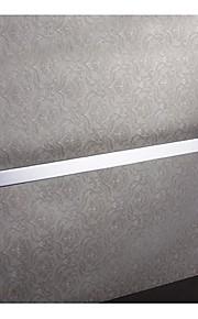 Modern acabamento cromado latão maciço Slat 24 polegadas Bar Toalha