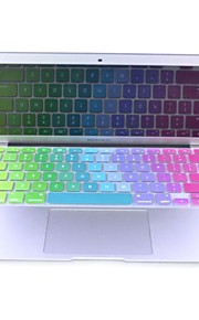 coosbo ® Bunte Silikon-Tastatur-Abdeckungs-Haut für Apple Mac Macbook Air Pro / Retina G6 13 15 17 US-Layout Version