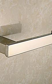 Miroir contemporain Finition poli Matériau Laiton Porte papier toilette