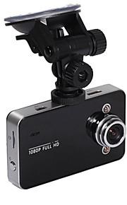 Grabadora DVR de Coche K6000 1080P Full HD Visión Nocturna y Lente de Ángulo 140º con Pantalla 2.7 Pulgadas TFT y G-Sensor