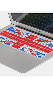 "coosbo® uk flag Silikon-Tastatur Hülle für 11,6 "", 13,3"", 15,4 "", 17"" MacBook Air Pro / Retina"