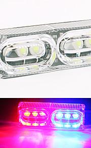 4-colores de la lámpara de señal de vuelta de la cola del freno de color ámbar claro luz motocicleta