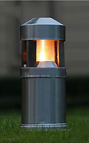 lumière oudoor mené une lumière forme moderne de pilar de rebroussement étanche 220v en acier inoxydable