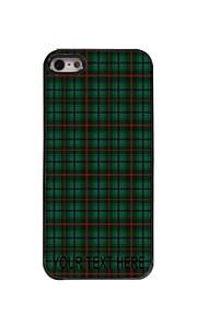 gepersonaliseerd geval rooster stijl metalen behuizing voor de iPhone 5 / 5s