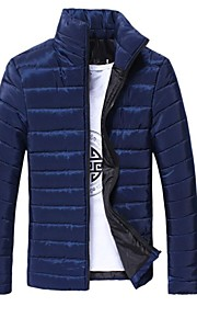 Men's Slim Casual  Stand Outerwear Coat