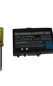 1800mAh 3,7 V oplaadbare lithium-ion batterij + gereedschap Pack kit voor nintendo dsl NDS Lite