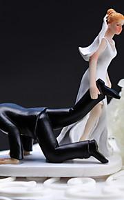 花嫁花婿ドラッグ - ケーキトッパーは、ケーキトッパーを樹脂