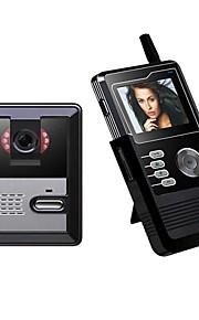 2.4inch bærbar lcd farveskærm video Dørtelefonen py-3224p