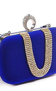 Women Polyester Wedding Evening Bag Pink / Blue / Black / Fuchsia