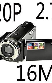 hd 720p 12MP digitale video camcorder camera dv dvr 2,7 '' TFT LCD 16x zoom