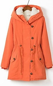 Women's Fashion Hoodies Plus Sizes Long Parka Coat