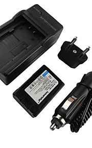 ismartdigi-samsung BP210E (2100mAh, 3.7V) kamera batteri + EU-stik + billader til Samsung HMX-H200 204 205 S10 S16 F44 F40