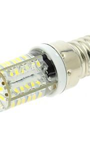 e14 3w 58x3014 SMD LED 200lm blanc ampoule de maïs chaud / froid avec la couverture de gel de silice (ac 220v)
