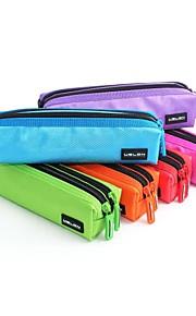 USLON® Multicolor New Design Good Quality Double zipper Pen Bag Pencil Case