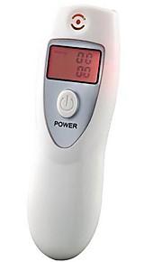 LCD display ånde alkohol tester med ur digital og timer med rød lommelygte PFT-642s