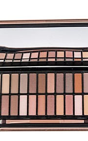 Women's Mute Pearly 24 Colors Eyeshadow Palette Makeup Cosmetic Earth Bare Color