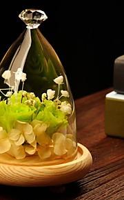 bordcenter DIY diamant glassdekselet bord deocrations (planter ikke inkludert)
