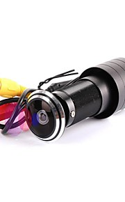 mini dør view videokamera 700tvl 1/3 ccd sidespejl farve 1.7mm linse dør øje hul kamera fiskeøjeobjektiv kamera
