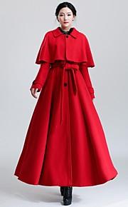 Incern®Women's Cape Shawl Slim Long Woolen Coat (More Colors)