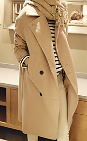 JANSA™ Women's  Fashion Lapel Long Cashmere Coat
