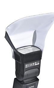 universal transportabel flash blød boks diffuser lomme udsmider til Canon Nikon Sony Olympus blinker