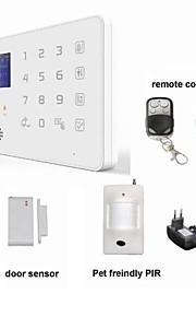app android gsm sms sikkerhed tyverialarm system detektor sensor fjernbetjening tastatur