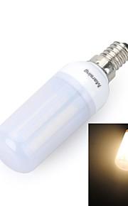 marsing® e14 givré conception croix 10w 900lm 56 x SMD 5050 lampe ampoule LED lumière blanche de maïs chaud / froid - (220V)