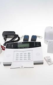 qh600 lcd gsm alarmsystemer og sikkerhed til hjemmet sikkerhed bevægelsessensor PIR sensor sirene