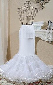 1-hoop queue de poisson sirène style jupe de mariée