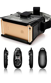 "colorcross universele virtual reality 3D videobril + multi-functionele bluetooth controller voor iPhone / 4 ~ 7 ""smartphones"
