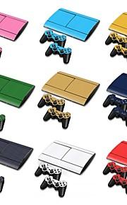 б-Skin® PS3 Slim 4000 3d углеродного волокна консоли защитная наклейка крышка кожи наклейка контроллер кожи