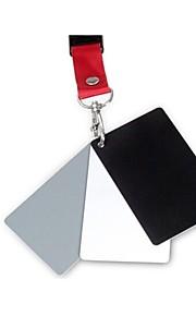 3-in-1 digitale grijs wit zwart grijs balans kaart set prem kaarten