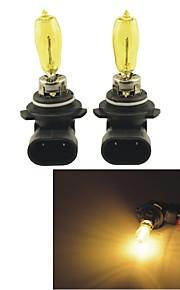 2stk carking ™ kobo 9005/9006 550lm 3000K gult lys bil halogen forlygte (dc 12v)