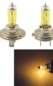 Kobo h7 12v 100w 3000k 550lm geel licht auto halogeen koplampen (2 CPS)