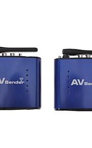 signstek pat-630 5.8GHz Video av audio trasmettitore tv sd mittente 8 canali 200m 20m wireless&Ricevitore Remoter