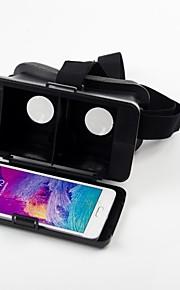 beboncool cabeza de cartón montar versión de realidad virtual de plástico gafas 3d de vídeo para la nota glalaxy 4
