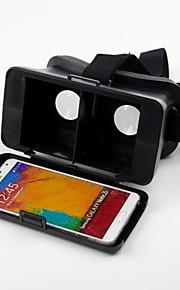 beboncool cabeza de cartón montar versión de realidad virtual de plástico gafas 3d de vídeo para la nota glalaxy 3