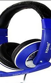 komc b8 on-ear usb hovedtelefoner med mikrofon til gaming