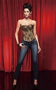 Women's Sexy Gold Lace  Shapewear Corsets